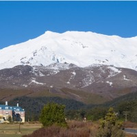 Mount Ruapehu and The Chateau